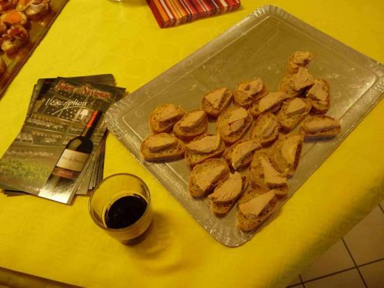 miam ! le foie gras!